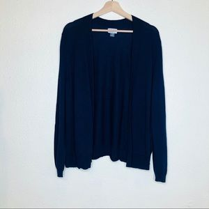 Old Navy Navy Blue Shortie Open Cardigan